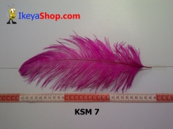 bulu kasuari medium KSM 7   feather  large