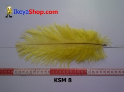 bulu kasuari medium KSM 8   feather  large